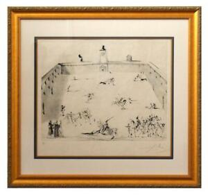 Salvador Dali Etching with drypoint in colors quot;Tienta 1967quot; $19800.00