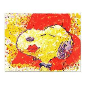 Tom Everhart Hand Pulled Original Lithograph quot;A Kiss is Just a Kissquot; $800.00