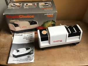 Chefs Choice Knife Sharpener Diamond Hone Sharpener Professional 100 In Box