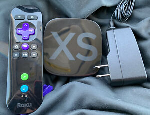Roku 2 XS 2nd Generation Media Streamer w AC Adapter & Remote Control 3100X