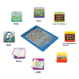 Baby Tablet Educational Toy Toddler Learning English For Girls Boys Baby