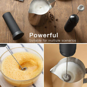 Kitchen Electric Milk Frother Whisk Mixer Stirrer Coffee Egg Beater Drink Foamer