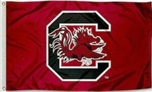 South Carolina Gamecocks Football Flag 3x5 New Fast USA Shipping 3 x 5 Banner