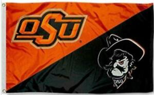 Oklahoma State Cowboys Football Flag 3x5 New Fast USA Shipping 3 x 5 Banner