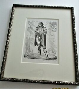 ROCKWELL KENT ORIGINAL LITHOGRAPH  SHAKESPEARE LOVE'S LABOURS LOST PENCIL SIGNED $165.00