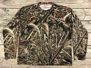 Under Armour Heat Gear Loose Realtree Max 5 Camo Hunting Shirt Men's XL $1.00