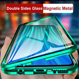 For Samsung Galaxy S20 FE 5G A31 Case Magnetic Metal Tempered Glass Full Cover $11.39