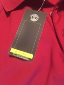 Mens Under Armour Long Sleeved Golf Polo Shirt Extra Large New With Tags $9.99