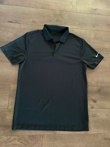 NIKE GOLF POLO SHIRT DARK GREEN DRI FIT MENS Medium $12.99
