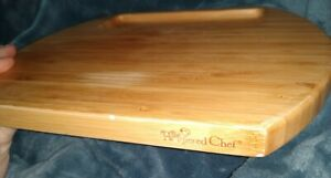 Pampered Chef Bamboo Reversible Cheese Cutting Board Retired