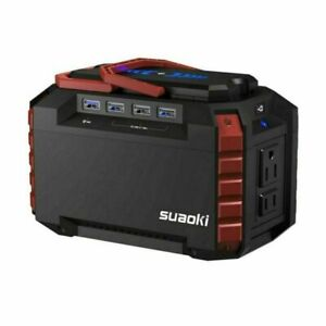 Suaoki Portable Power Station 150wh Camping Generator Lithium Power Supply S270