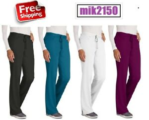 Grey#x27;s Anatomy Womens Scrubs Drawstring Pants 4232T Tall All Colors amp; Sizes NWT