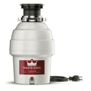 Waste King Legend Series 3/4 HP Continuous Feed EZ Mount Garbage Disposal