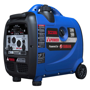 A iPower Powered by Yamaha Portable Quiet Inverter Generator 2300 W Peak