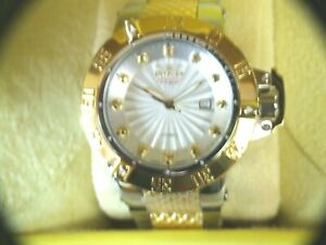 INVICTA 50MM HERITAGE NOMA III LIMITED EDITION AUTOMATIC DIAMOND ACCENTED WATCH