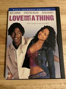 Love Dont Cost a Thing DVD 2004 Full Screen Authentic US Release $9.49