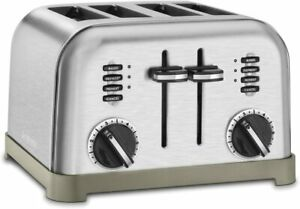 Cuisinart 4 Slice Classic Metal Toaster Brushed Stainless $69.95