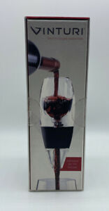 VINTURI Essential Red WINE AERATOR Perfect Smooth Decanter New V1010