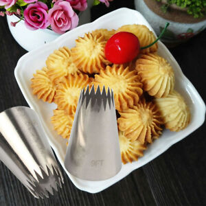 Large Icing Piping Nozzle Russian Pastry Tips Baking Mold Cake Decoration Tool $1.99
