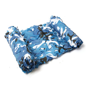Military Netting Camo Tent Surplus Style Hunting Rifle Dear Camouflage Net Blue