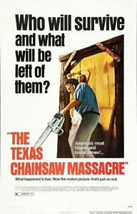 Texas Chainsaw Massacre Movie Sheet Poster 24x36 inch *Fast Shipping* New 1974