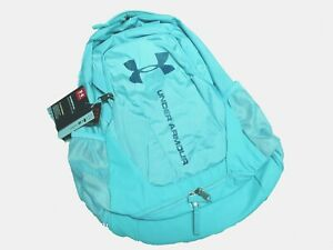 Under Armour HUSTLE 3.0 STORM BACKPACK 1294720 425 NWT lite BLUE 18 X13 X 9 $39.99