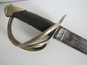 US Civil War Model 1840 Ames Cabotville Heavy Cavalry Sword Saber Dated 1851 $495.00