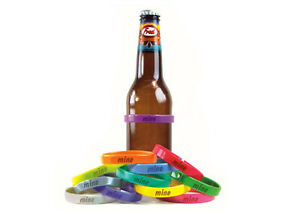 Fred Beer Bands Mine 12 Multi Colors Stretch Tailgating Holidays Parties NIP