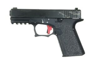 Talon Grips for Polymer80 PF940C and PFC9 in Rubber Black Texture 267R
