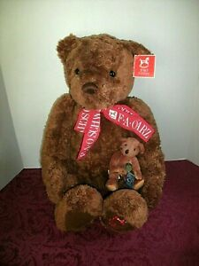 2 BROWN STUFFED BEARS FAO SCHWARZ BEAR 22 5TH AVE KNICKERBOCKER GULLIVER $29.00