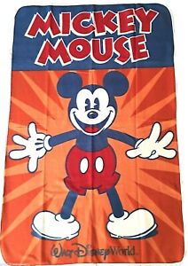 Mickey Mouse Throw Fleece Blanket with Backpack 58