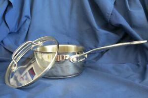 Cuisinart Model 719-16G Saucepan with Glass Lid Cover 1.5 Qt. Stainless