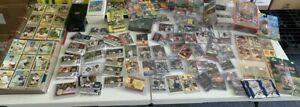SPORTS CARDS LOT 5 LBS ALL FOUR MAJOR SPORTS AND MORE 1960#x27;S 2017 FREE SHIPPING