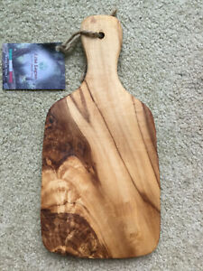 NEW ARTE LEGNO OLIVE WOOD CUTTING SERVING CHEESE BOARD 11