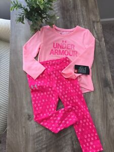 Nwt Girls Under Armour Size 24 Monthes Outfit Clothes Lot $29.99
