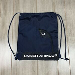 Under Armour Drawstring Backpack With Zipper Pocket $15.00