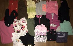 Girls Summer Fall Play Clothes Sz 4 5 Lot Of 18 Under Armour Nike Jacket $20.00