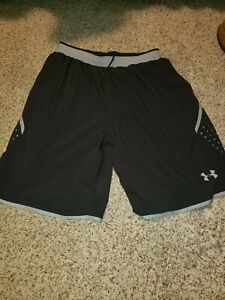 Men's Under Armour And Nike Gym Workout Shorts Lot Of 3 Large $11.50