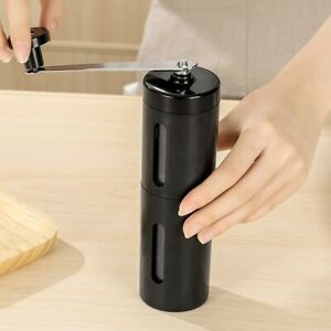 Stainless Steel Portable Manual Coffee Grinder Burr Mill Hand Crank Grinder