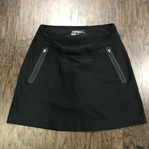 "Nike Golf Dri Fit Tour Performance Skirt Skort Black S ""Small"" $33.00"