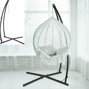 Hammock C Stand Solid Steel Construction For Hanging Air Porch Swing Chair US $89.99