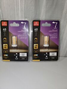 Globe Electric40W Warm White (3000K) G8 Dimmable LED Light Bulb PACK OF 2