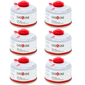 100 g Isobutane Camping Fuel Blend Canister 6 Pack