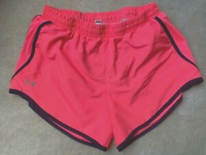 UNDER ARMOUR Women's Hot Pink Running Shorts, Size Small $4.99