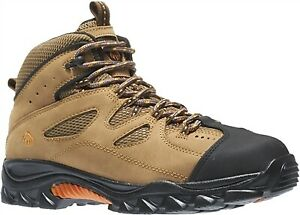 Wolverine Hudson Steel Toe Heat Resistant EH 6quot; Hiker Work Boot WIDE WIDTH $69.99