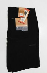 Weatherproof Mens Shorts Quick Dry Trail Black Size 34 Stretch NEW $9.99