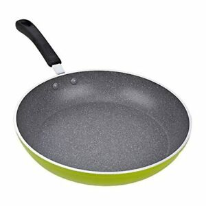 Cook N Home 02404 12-Inch Frying Pan with Non-Stick Coating Induction Compatible
