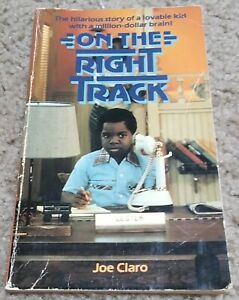 Gary Coleman On the Right Track Scholastic Paperback PB Book 1981