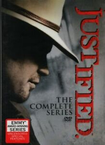Justified The Complete Series 19 Dvd Box Set New Free Shipping USA $27.95