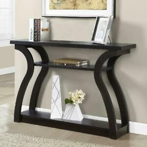 Modern Console Table 47quot; Wall Contemporary Entryway Storage Furniture Wood Shelf $169.28